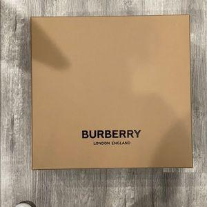 Empty Burberry Box
